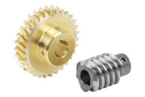 Worm gears, right-hand centre distance 33 mm