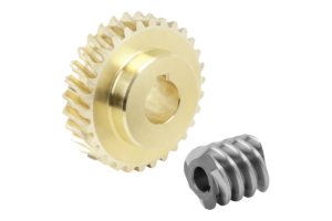 Worm gears, right-hand centre distance 40 mm