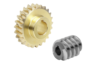 Worm gears, right-hand centre distance 50 mm