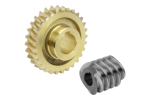 Worm gears, right-hand centre distance 53 mm