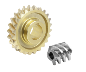 Worm gears, right-hand centre distance 63 mm