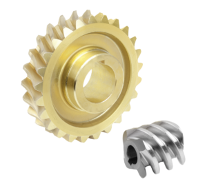 Worm gears, right-hand centre distance 65 mm