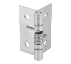 Spring hinges, steel, stainless steel or aluminium, 50 mm, spring open