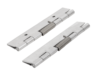Spring hinges, steel, stainless steel or aluminium, 120 mm, spring closed
