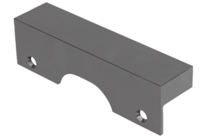Jaw plates machinable