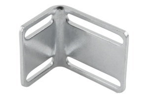 Angle bracket for ball catch