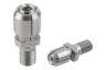 Mandrel collet for small bores