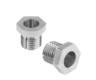 Threaded clamping bushes