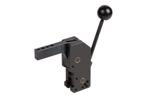 Manual clamp vertical with hole pattern on the front