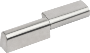 In-line hinges stainless steel lift-off, screw-on