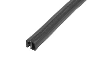 Edge protection sealing profiles with integrated steel wire core, Form C