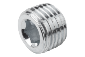 SCREW PLUG DIN906 WITHOUT VENT, R1/4,