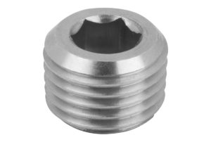SCREW PLUG DIN906 WITHOUT VENT, R1,