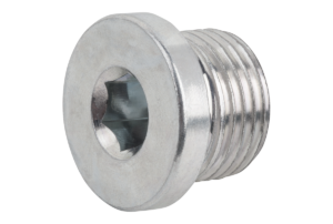 SCREW PLUG DIN908 WITHOUT VENT, M8x1,