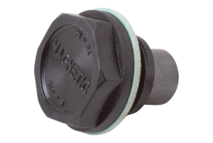 SCREW PLUG WITHOUT VENT W.MAGNET, D=22,