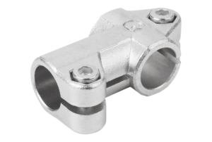 TUBE CLAMP 3-WAY FLAT, FORM:A STAINLESS