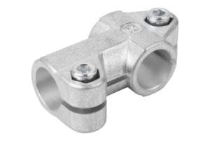 TUBE CLAMP 3-WAY FLAT, FORM:B