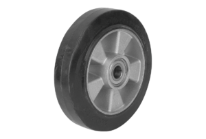 SOLID RUBBER WHEEL WITHOUT LOCKING