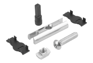 PIN CONNECTOR TYPE B, BN=8, STEEL